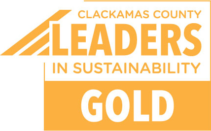 Clackamas County Leaders in Sustainability Gold